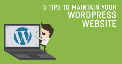 Best ways to maintain wordpress website